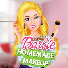 Barbie Homemade Makeup